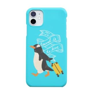 旅するペンギン Smartphone cases