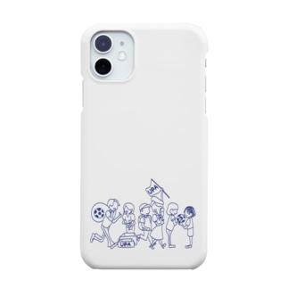UPA method NAVY Smartphone cases