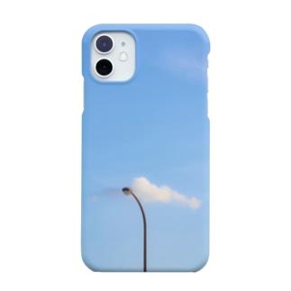雲と街灯 Smartphone cases