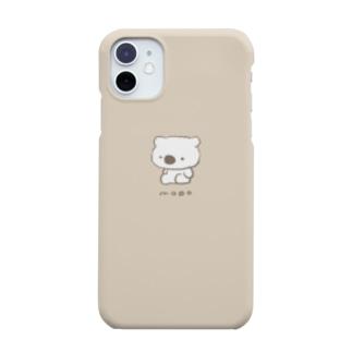 おすわりモポ みるくてぃー Smartphone cases