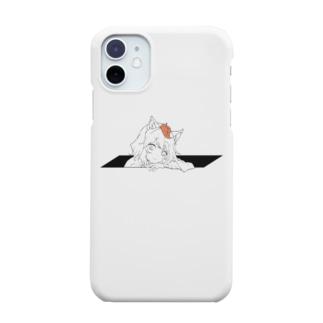 ひょっこりきつねさん Smartphone cases
