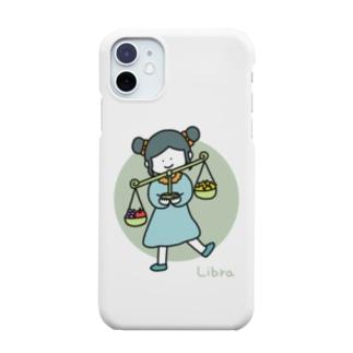 てんびん座ガール Smartphone cases