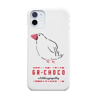 義理チョコ文鳥 Smartphone cases