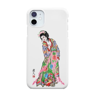 ねぷた絵「唐美人」 野村雄大作 Smartphone cases