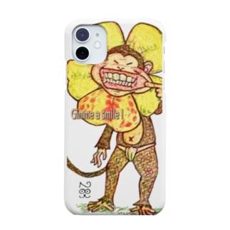 monkey flower 「笑顔を見せて」 Smartphone cases