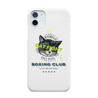 CAT FIGHT Smartphone cases