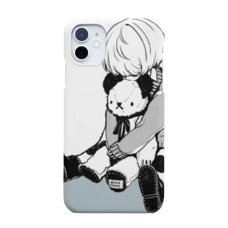 少年とティノくん Smartphone cases