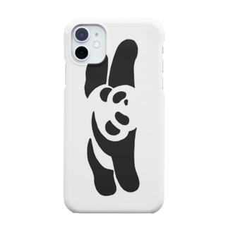パンダ(うつぶせ) Smartphone cases