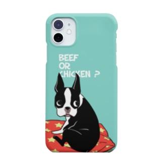 BEEF OR CHICKEN ?(iPhone11~) Smartphone cases