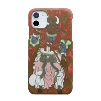 牛頭(ゴズ) Smartphone cases