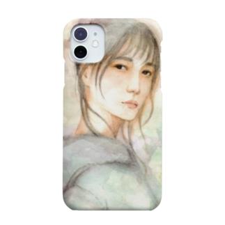 KELLYSTORE@suzuriのpurple rain Smartphone cases