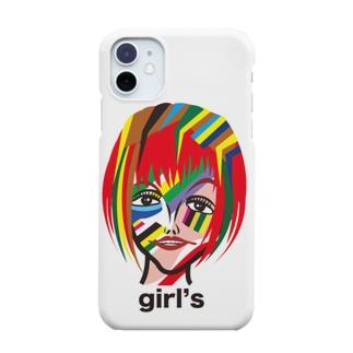 メイクアップガールズのイラストレーション!No.4で〜す。 Smartphone cases