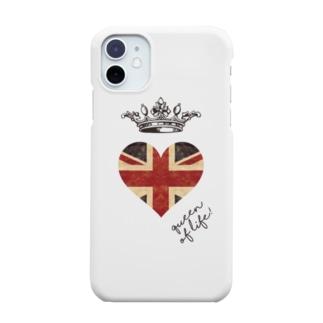 di-2 UKハート Smartphone cases