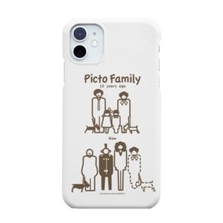 ピクトファミリー(10年間に何が?解説なし) Smartphone cases