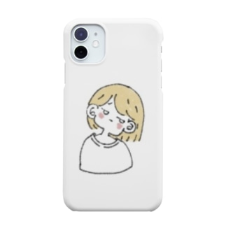 けだるい女の子 Smartphone cases