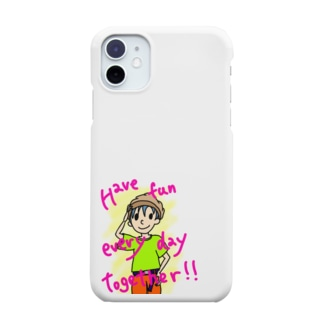 Have fun every day together! Smartphone cases