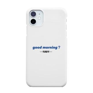 good morningケース🌐 Smartphone Case