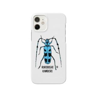 ルリボシカミキリ Smartphone cases