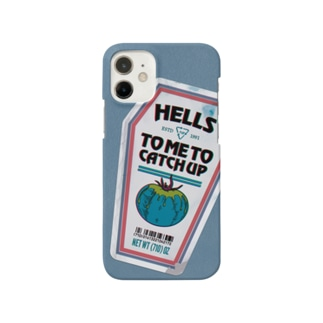 HELLS ketchup Smartphone cases
