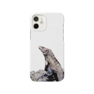 イグアナくん Smartphone cases