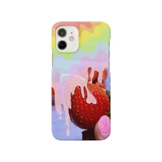 いちごの誘惑  Smartphone cases