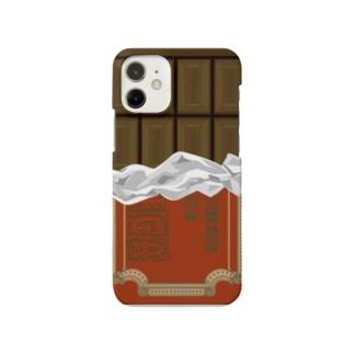 ミルクチョコiPhoneケース Smartphone cases