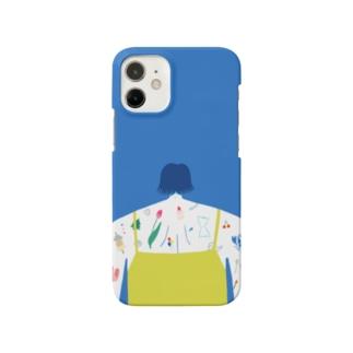 タトゥー ブルー Smartphone Case