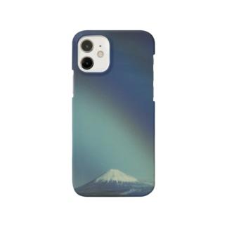 Petrichorの富士山と虹 Smartphone cases