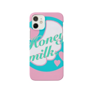 Honey milk. original logo♡ Smartphone cases