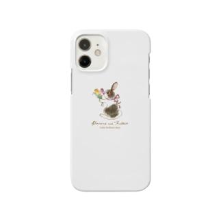 Rabbit -チューリップ- Smartphone cases