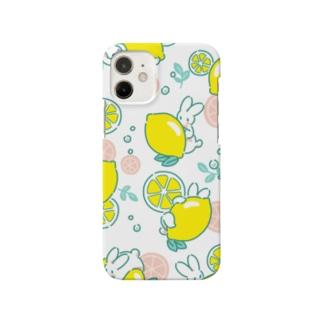 うさぎとレモン(クリア) Smartphone Case