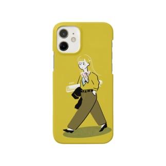 歩く女の子 Smartphone cases