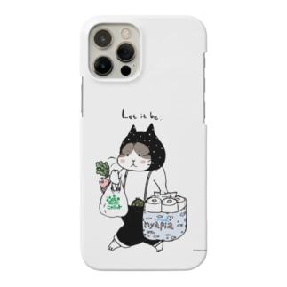 お買い物ねこ Smartphone cases