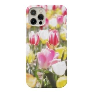 花フォト(チューリップ) Smartphone cases