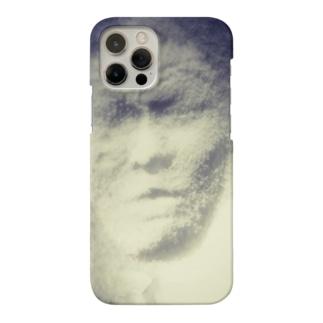 雪に閉じ込められた男 Smartphone cases