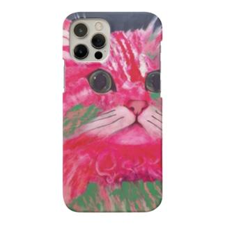 Rhodonite Cat(ロードナイト キャット) Smartphone cases