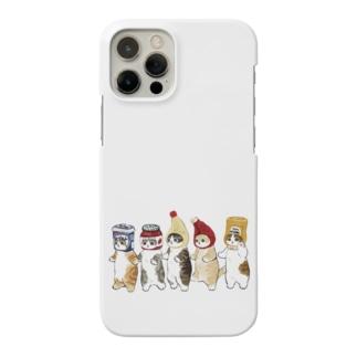 かぶりもの猫 Smartphone cases