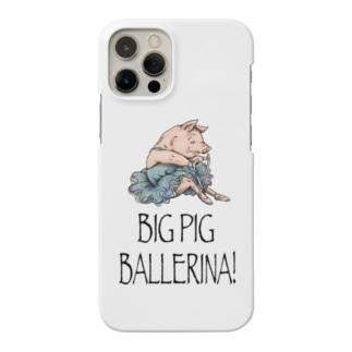 BIG PIG BALLERINA! Smartphone cases
