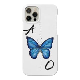 hachiohomi_izmの青い蝶 BUTTERFLY  EFFECT スマホケース Smartphone Case