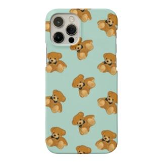 かなしみくまさん(mint) Smartphone cases