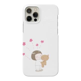 ずっと一緒!トコちゃんとクマさん Smartphone cases