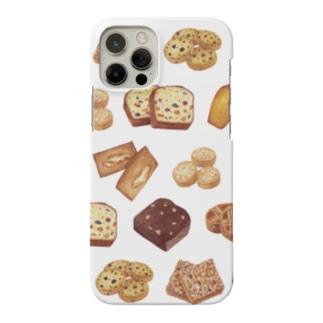 くぼいともこの焼き菓子【クリア】 Smartphone cases
