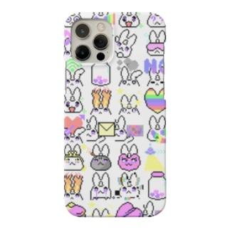 エキセントリックウサギガール Smartphone cases
