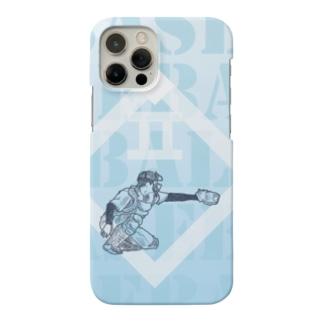 野球キャッチャー Smartphone Case