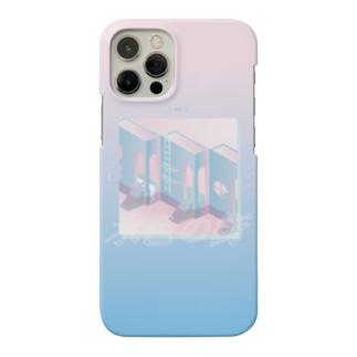 mayuの水色の街 Smartphone cases