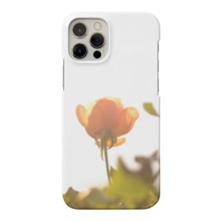 逆光の薔薇 Smartphone cases