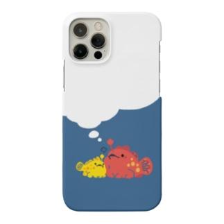 ぎゅっ!とカエルアンコウ Smartphone cases