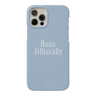 鼻汁たらり(青っぱなロゴ) Smartphone cases