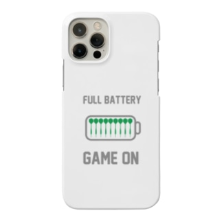 FULL BATTERY GAME ON iPhone Case (White) Smartphone cases