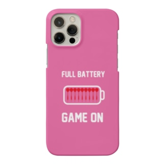 FULL BATTERY GAME ON iPhone Case (Pink) Smartphone cases